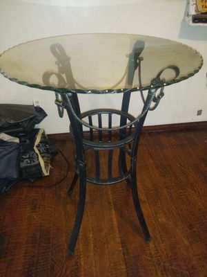 "Bistro table""glass top"" for Sale in Rancho Cucamonga, CA"