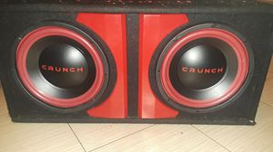 Crunch speakers for Sale in San Diego, CA