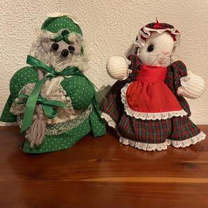 Vintage Christmas Dolls for Sale in Fairview Heights, IL