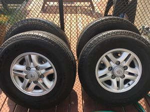 OEM Lexus LX470 Tires and Rims for Sale in Chicago, IL