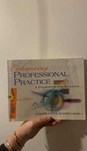 Charlotte Danielson's Framework for Teaching! for Sale in Nottingham, NH