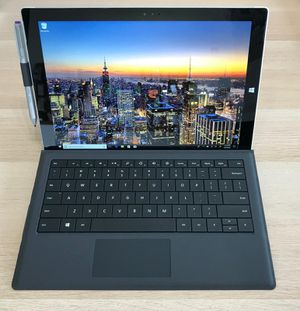 Microsoft SurfacePro 3 i3-4020 4GB//64GB SSD -Windows 10 pro -Fully Working -Runs fast! for Sale in Elmhurst, IL