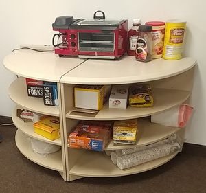 Corner display shelving 29 inches by 29 in for Sale in Columbus, OH