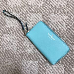 Kate Spade Wallet/Wristlet Tiffany Blue for Sale in San Jose, CA