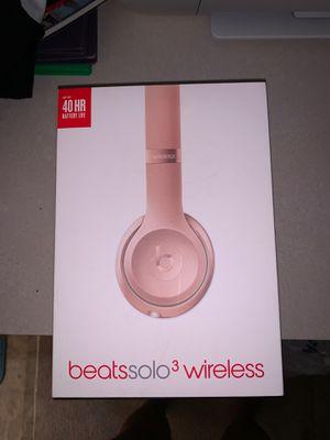 Beats solo 3 wireless for Sale in Norfolk, VA