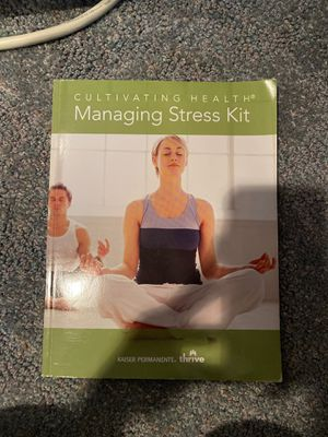 Cultivating health - managing stress kit for Sale in Portland, OR