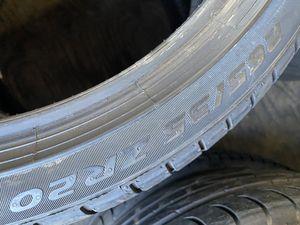 265/35/20 Pirelli Pzero (2 Tires) $160.00/ Both for Sale in Mission Viejo, CA
