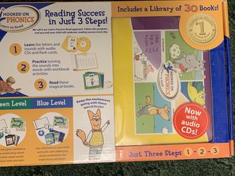 Hooked On Phonics Learn To Read Ages 4-8 (K-2nd Grade) Complete Reading for Sale in Albuquerque,  NM