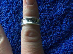 Tiffany 1837 silver .925 ring. Size 6 for Sale in San Antonio, TX