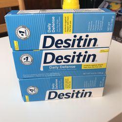 Desitin Daily Defense Diaper Rash Cream 4.8oz (3) for Sale in Paramount,  CA