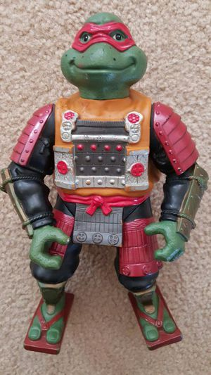 "Vintage 1993 TMNT III Movie Samurai Ralph 12"" giant figure vtg Toys for Sale in Pineville, NC"