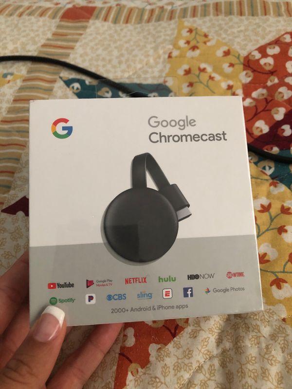 Google Chromecast new