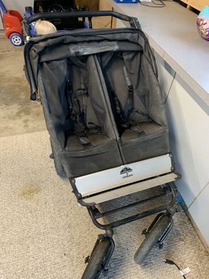 Double jogging stroller - compact for Sale in Bakersfield, CA