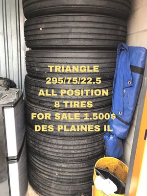 TIRES SEMI TRAILER OR TRUCK for Sale in Des Plaines, IL