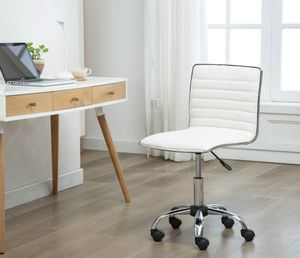 White Office Chair, 1125WH for Sale in Santa Fe Springs, CA