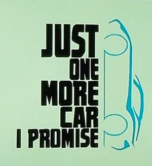 Just one more car I promise shirt. for Sale in Florence, MS