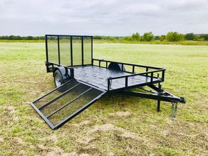 6 x 12 2-gate trailer for Sale in Austin, TX