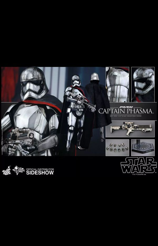 Hot Toys Star Wars Captain Phasma MMS328