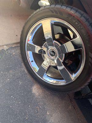"""Silverado SS chrome 22"""" Rims for Sale in Hutchinson, KS"""