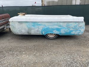 VINTAGE 1954 RANGER POP-UP TRAVEL CAMPER TRAILER for Sale in San Diego, CA