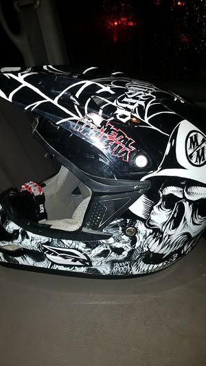 2012 assault metal mulisha motor Ross dirt bike helmet for Sale in Garfield Heights, OH