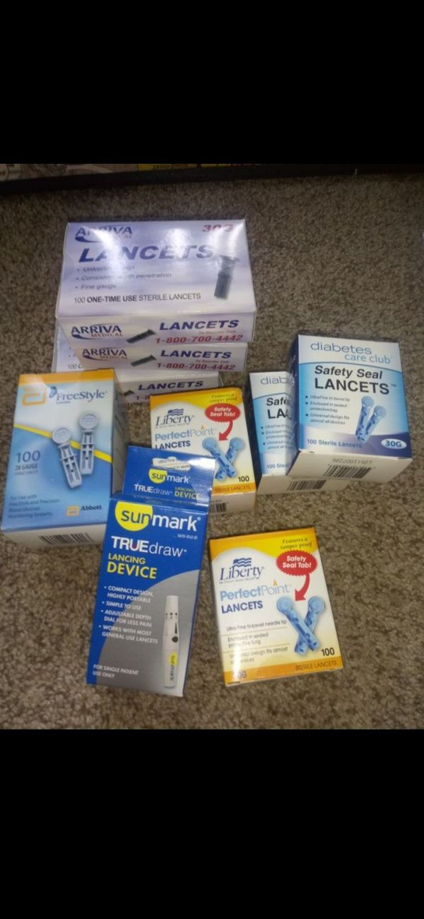 NEVER opened diabetic supplies