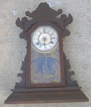 1890s era Waterbury Janeway model mantle clock made in U.S.A for Sale in Fresno, CA