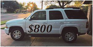 ($800)🍁FOR SALE 2003 Chevrolet Tahoe Z71 for Sale in Washington, DC