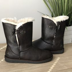 Airwalk Brown Fur Lined Winter Boots - Size 7.5 for Sale in Raleigh,  NC