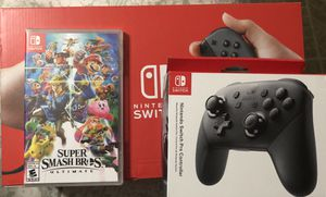 Nintendo Switch Console Bundle 6 GAMES for Sale in Miami, FL