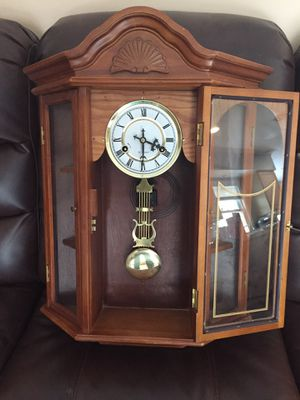 Wall clock with shelves for Sale in Manchester Township, NJ