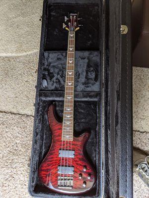 Schecter diamond series stiletto 4 Bass guitar. for Sale in Danbury, CT