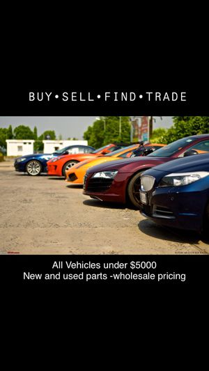 Used vehicles. New and used parts for Sale in Waukegan, IL