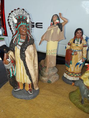 Native American figurines for Sale in Fresno, CA
