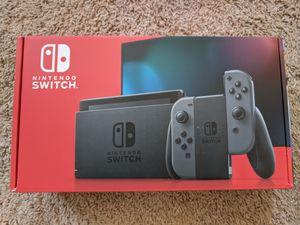 New Nintendo Switch V2 Gray for Sale in Nottingham, MD