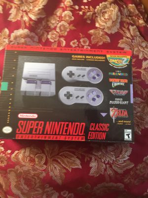 Super Nintendo Classic for Sale in Silver Spring, MD