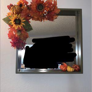 Fall Decorative Wall Mirror Obo for Sale in Vallejo, CA