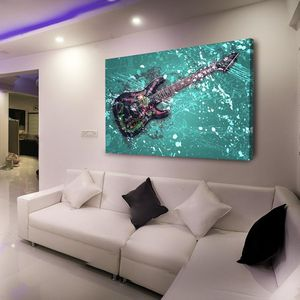 Guitar Modern Wall Art 700+ Museum Quality Canvas Paintings. Sizes Start @$89/ONLY $22 down! 👉ArtworkAddict(dot)com for Sizes+Sales! EZ Returns+💰Back! for Sale in Miami, FL