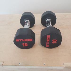 10 lb Dumbells for Sale in Charlotte, NC