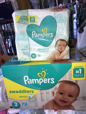 Pampers / wipes for Sale in Oceanside, CA
