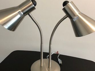 Twin Gooseneck Lamp with LED Bulbs for Sale in Newton,  MA