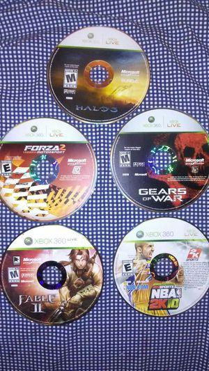 5 XBOX 360 Live Games for Sale in Boston, MA