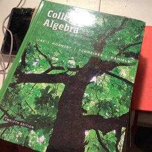 College Algebra Book for Sale in La Puente, CA
