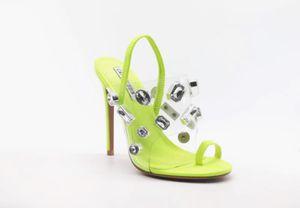 Clear Rhinestone SlipOn Heels for Sale in Fresno, CA