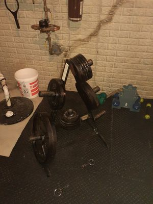 Olympic Weight Set for Sale in Blacklick, OH
