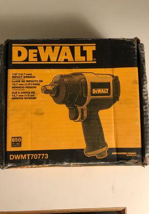 """Dewalt 1/2"""" Impact wrench for Sale in Seattle, WA"""