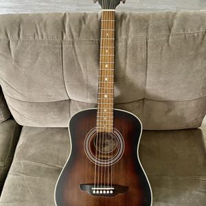 Acoustic Luna guitar 3/4 Safari Vintage Traveling for Sale in Corona, CA