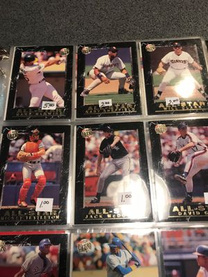 Baseball trading cards for Sale in Austin, TX