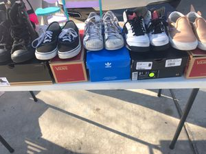 5 Pairs Of Kids Shoes (Converse, Vans, Adidas, Jordan) (Come as a pack) for Sale in Corona, CA