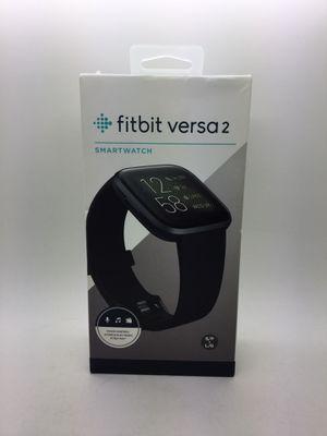 Fitbit Versa 2 Smartwatch Black Brand New for Sale in Deerfield Beach, FL